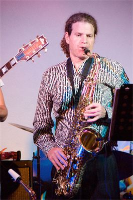 yosi on sax